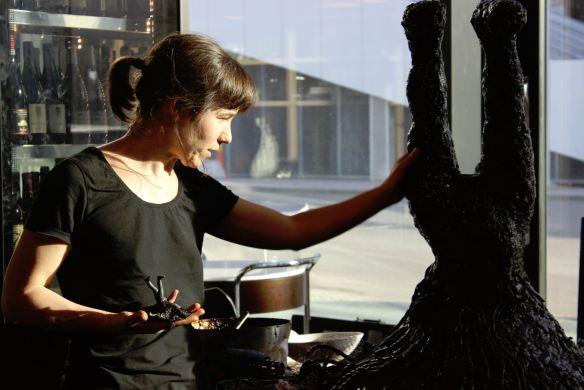 lakritsskulptur